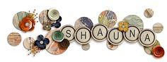ScrapSimple Digital Layout Templates: Shape Up Siggies