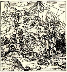 Τελχίνες, μυθικοί δαίμονες καταγόμενοι από την Κρήτη οι οποίοι αργότερα κατοίκησαν τη Ρόδο. 1556 - THEVET, André - ME TO BΛΕΜΜΑ ΤΩΝ ΠΕΡΙΗΓΗΤΩΝ - Τόποι - Μνημεία - Άνθρωποι - Νοτιοανατολική Ευρώπη - Ανατολική Μεσόγειος - Ελλάδα - Μικρά Ασία - Νότιος Ιταλία, 15ος - 20ός αιώνας