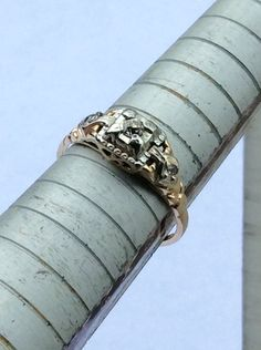 A personal favorite from my Etsy shop https://www.etsy.com/listing/255216212/14k-yellow-gold-deco-filigree-diamond