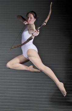 Artist Reference | Pose | Flame Sniper - Pose Reference by *SenshiStock on deviantART