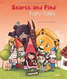 Search And Find The World Of Fairy Tales By Mayana Itoiz