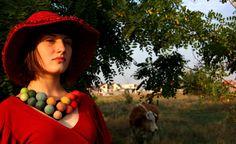 """Colier unicat """"Vestejire"""" (45 LEI la meandmine.breslo.ro) Hats, Accessories, Jewelry, Jewlery, Hat, Jewels, Jewerly, Jewelery"""