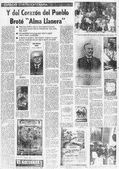 El Alma Llanera. Publicado el 28 de febrero de 1967.
