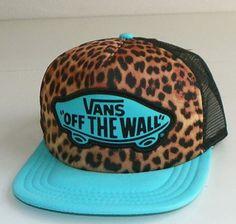 Cheetah Vans flat brimmed hat 80879d849