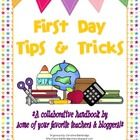 A FREE collaborative e-book filled to the brim with teaching tips and ideas for the first few days of school!