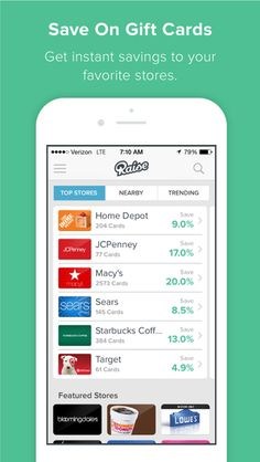 Raise - Buy and Sell Gift Cards app review - appPicker Sell Gift Cards, Raising, Buy And Sell, App, Digital, Gifts, Stuff To Buy, Presents, Apps