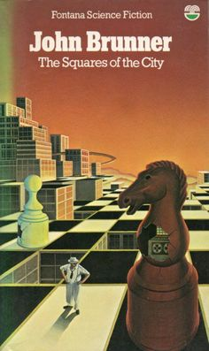 Adventures in Science Fiction Cover Art: Chess/Checkers (with people + planets) | Science Fiction and Other Suspect Ruminations