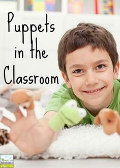 Fun and purposeful ways to use  puppets in the classroom!