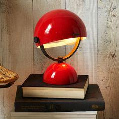 Clint Mini Task Lamp - Red