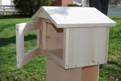 PLANS for Gable-style Little Library