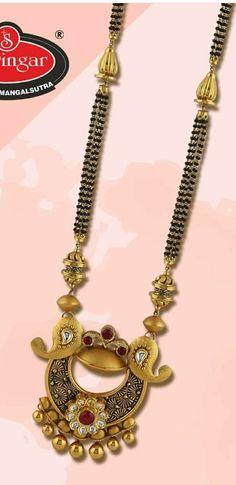 Gold Bangles Design, Gold Jewellery Design, Bead Jewellery, Silver Jewellery, Antique Jewellery Designs, Antique Jewelry, Gold Wedding Jewelry, Bridal Jewelry, Gold Mangalsutra Designs