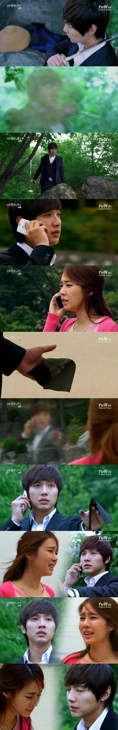Queen In Hyuns Man... LOVED this show.... This scene was so sad (hmm.. never seen this..)