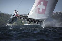 Extreme Sailing Series™: Alinghi gana el Acto de Sidney y la temporada 2014