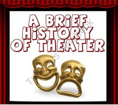A Brief History Of Theater / Drama product from Presto-Plans on TeachersNotebook.com