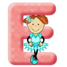 Lindo alfabeto bailarinas em png! - Alfabetos Lindos