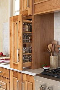 Like Spice Storage, Location And Cabinets