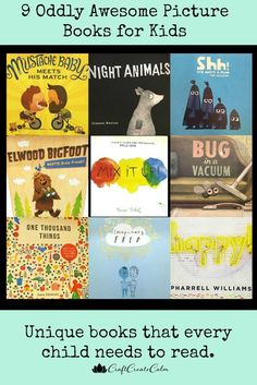 9 Oddly Awesome Picture Books for Kids