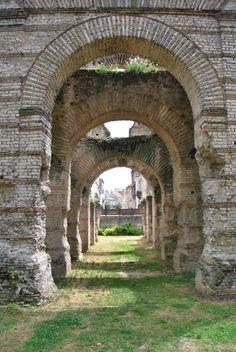Roman ruins, Bordeaux, France
