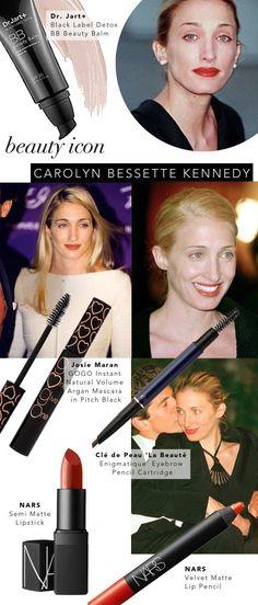 Beauty Icon: Carolyn Bessette Kennedy