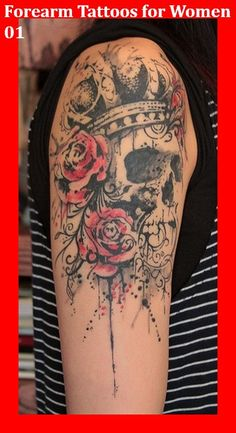 Forearm Tattoos for Women 01