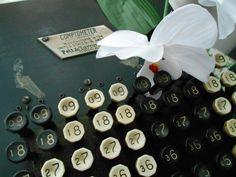 """Detall teclat """"Comptometer"""" www.eventosycompromiso.com"""