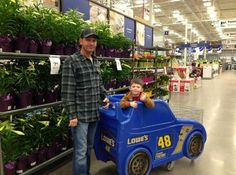 """He just insisted that he rides in the Jimmie Johnson car!"" - Clint Bowyer"
