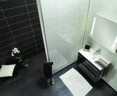 3091 HG F24 Denver White og 3492 SL F05 Norwegian Slate Flooring, Slate, Bathroom, Home, Tile Floor, Bathtub, White