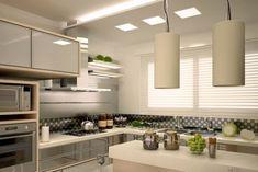 Bucatarie gri cu crem Olympic Paint, Kitchen Paint Colors, Cool Kitchens, Table, Furniture, Design, Home Decor, Kitchen Paint Colours, Decoration Home