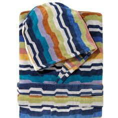 Bathrobe Missoni Home with hood multicolor VIRGINIO XL