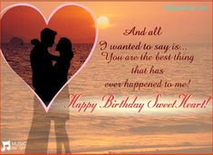 Romantic, Funny and Happy Birthday Wishes for Husband from wife, daughter and family. These birthday wishes for husband and dad will make him smile! Birthday Quotes For Girlfriend, Happy Birthday Quotes For Him, Romantic Birthday Wishes, Birthday Wishes For Girlfriend, Birthday Wish For Husband, Birthday Wishes And Images, Happy Birthday Messages, Birthday Cards, Birthday Greetings