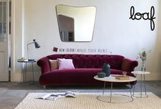 This deep sofa has a glamorous, pre-war feel to it. With its faded grandeur but extremely high squish factor, its ideal for retiring to for a cup of tea or three. Loaf Sofa, Deep Sofa, Couple Room, Sofa Legs, Art Deco Furniture, Funky Furniture, Chesterfield Sofa, Curtains With Blinds, Kid Beds