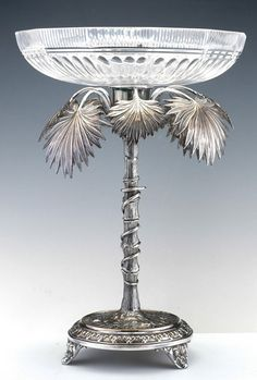 1910 WMF Silvered Fruit Stand - Tiroche