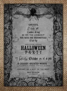 Hey, I found this really awesome Etsy listing at https://www.etsy.com/listing/204426752/spooky-halloween-party-invitation-ghosts