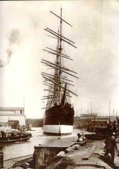 "Le ""Preussen"" à Geestemünde en 1902"