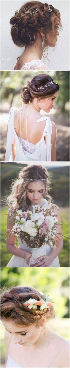 Wedding Hairstyles » 21 Inspiring Boho Bridal Hairstyles Ideas to Steal