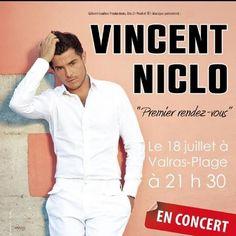 vincentniclofficiel - De retour de Montréal avec des nouvelles incroyables à vous raconter!!! Demain concert à Valras