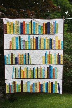 Book Quilt Block Pattern | ... tutorial I found this Mini Bookshelf Quilt Tutorial …What luck