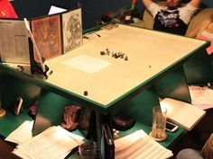 RPG Gaming Table by Jim Barnes — Kickstarter Great Christmas Idea for my son!