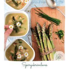 Csupacsokis Cream Tart - Gastrotherapy Asparagus, Tart, Cream, Vegetables, Food, Creme Caramel, Studs, Pie, Essen