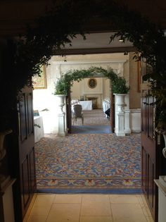 Greenery archways Greenery, Patio, Outdoor Decor, Flowers, Home Decor, Terrace, Interior Design, Royal Icing Flowers, Home Interiors