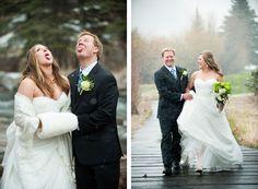 A Spring Wedding in Vail (image: @brintonstudios  planning: @planningideas via @coweddingsmag)