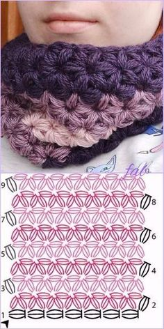 Crochet Jasmine Star Stitch Free Pattern-Video - Knitting For BeginnersKnitting HumorCrochet ProjecYou can find Jasmine and more on our website.Crochet Jasmine Star Stitch Free Pattern-Video - Knitting For BeginnersKnitting HumorCr. Crochet Shawl Diagram, Crochet Motifs, Crochet Stitches Patterns, Stitch Patterns, Knitting Patterns, Afghan Patterns, Amigurumi Patterns, Crochet Stars, Love Crochet