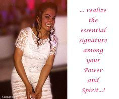 ... realize the essential signature among your #Power and #Spirit...!