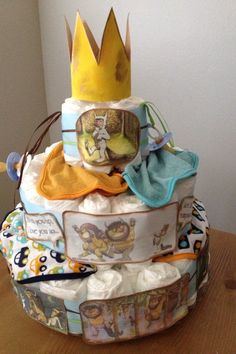 Diaper Cake Where The Wild Things Are Cassy S Baby