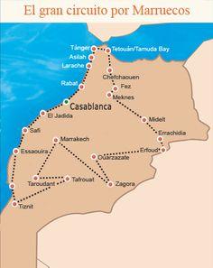 Viajes a Marruecos – Circuitos turísticos – Oficina Nacional Marroquí de Turismo