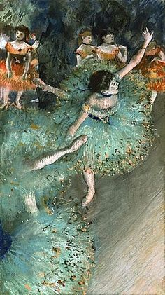 Danseuse en vert, Edgar Degas -