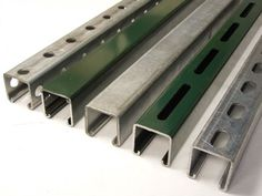 Outdoors & applications where channel is exposed to moisture or corrosive agents are perfect examples of where Stainless Steel Unistrut Channel is needed