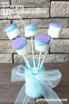 Frozen marshmallow treats