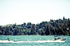 Summer Weekend Getaway: Water skiing at Lake Arrowhead - Lake Arrowhead is a private lake, but you can still get in on the water skiing action through Mackenzie Water Ski School and sign up for a group excursion for a day out on the water.