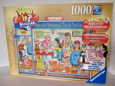 WHAT IF? No. 6 jigsaw MYSTERY PUZZLE 1000 THE PET PARLOUR cartoon exc #193646 #Ravensburger
